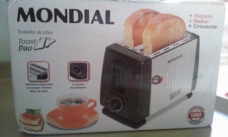 Tostador de pães mondial gfk