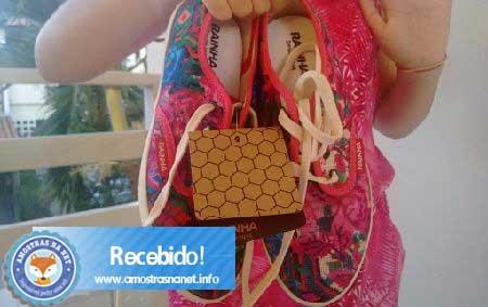 Tênis rainha feminino estampa floral recebido gratis