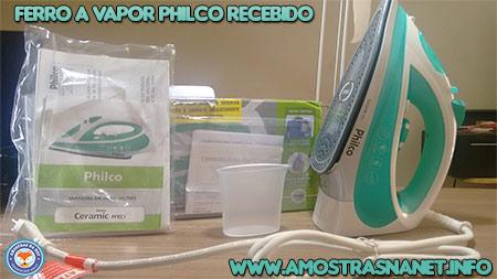 Ferro a vapor philco recebido gratis amostrasnanet