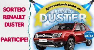 Renault duster sorteio big premio