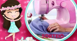 Máquina de costura rosa elgin sorteio