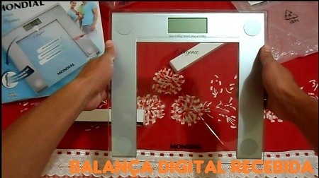 Balança digital mondial gratis amostras na net