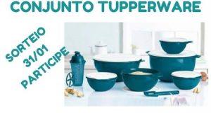 Conjunto tupperware sorteio amostras na net