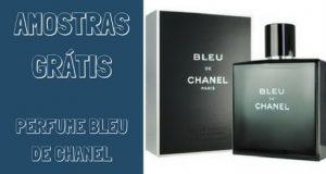 Amostras gratis perfume bleu de chanel